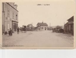 LIMAY   - La Gare En 1908 - Limay