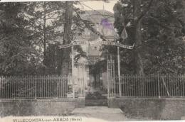 Villecomtal-sur-Arros (gers) - Honneur à M. Abel Gardey - Sénateur - Le Jeunesse De Villecomtal - France
