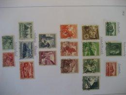 Deutschland/ Deutsches Reich- Mi. 676-674, Mi. 672, Winterhilfswerk Mi. 675-683, Automobilausst. Mi. 686-688, Mi. 684-85 - Used Stamps