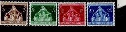 Deutsches Reich 617 - 620 Gemeindekongress München MNH Postfrisch ** Neuf - Deutschland