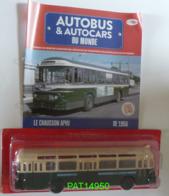 AUTOCAR BUS AUTOBUS CHAUSSON APVU De 1956 RATP Ligne 84 Publicités SAMOS 99 & CHANTELLE - Ixo