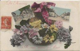 D 45   NANCRAY   Multivues  Je Vous Envoie Ces Fleurs - Francia