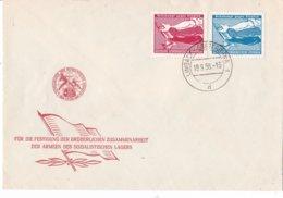 DDR - FDC 19-9-1958 - Volkskampf Gegen Den Atomtod - M 655-656 - FDC: Covers