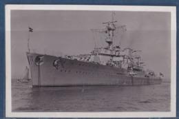 Photo Originale WWII Croiseur Leger Kriegsmarine Kreuzer Leipzig - Barcos