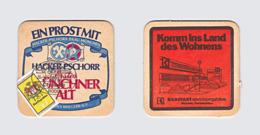 Sous-bock Bière Unique Brauerei Hacker-Pschorr, Timbre 1978 Beer Mat Bierdeckel Coaster - Portavasos