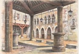 CPSM - 81 - CORDES - La Halle Et La Maison Du Grand Fauconnier  - 033 - Cordes