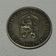 1962 - Tchécoslovaquie - Czechoslovakia - 1 KORUNA - KM 50 - Czechoslovakia