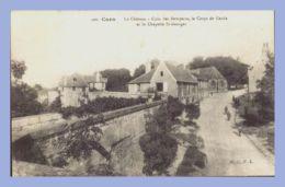 CPA - Caen (14) - 200. Le Château - Coin Des Remparts, Le Corps De Garde Et La Chapelle ST-Georges - Caen