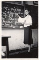 Original Photo Vintage Girl Teacher - Pin-ups
