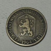 1964 - Tchécoslovaquie - Czechoslovakia - 1 KORUNA - KM 50 - Czechoslovakia