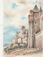 CPSM - 11 - CARCASSONNE - La Tour De L'Evêque - 036 - Carcassonne