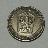 1967 - Tchécoslovaquie - Czechoslovakia - 1 KORUNA - KM 50 - Czechoslovakia