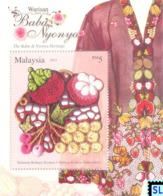 Malaysia Stamps 2013, The Baba & Nyonya Heritage, MS - Malaysia (1964-...)