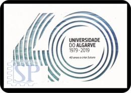 Portugal 2019 Bilhete Postal 40 Anos Da Universidade Do Algarve Université Universiteit Universität University Universid - Escuelas