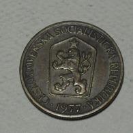 1977 - Tchécoslovaquie - Czechoslovakia - 1 KORUNA - KM 50 - Czechoslovakia