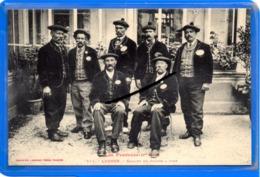 CPA 31 - LUCHON - Groupe De Guides à Pied - Luchon