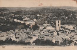 Carte Postale Ancienne Des Alpes De Haute-Provence - Forcalquier - Vue Générale De Saint Marc - Forcalquier