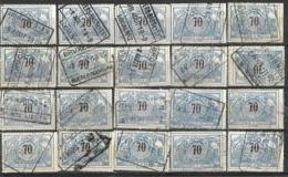 _9Sp-963:restje 20zegels: TR23 ...om Verder Uit Te Zoeken. - 1895-1913