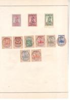 Un Lot Comprenant 126-128 Non Dentelés + 108 109 110 115 116 123 124 125 Oblitération Spéciale - 1914-1915 Red Cross