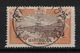 Martinique - Yvert 96 Oblitéré DIAMANT - Scott#75 - Used Stamps