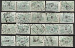 _9Sp-961: Restje 20 Zegels: TR20 ...om Verder Uit Te Zoeken. - 1895-1913