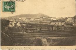 Russange -russingen -lothringen - Panorama- Train -cpa - Altri Comuni