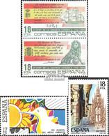 Spanien 2674-2675 Paar, 2676,2677 (kompl.Ausg.) Postfrisch 1985 Flagge, Umwelt, Volksfeste - 1931-Heute: 2. Rep. - ... Juan Carlos I