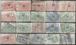 _9Sp-960: Restje 20zegels: 3de Uitgifte ...om Verder Uit Te Zoeken. - 1895-1913