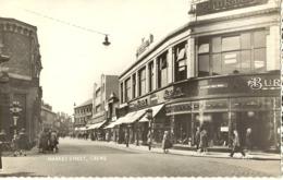 Crewe-market Street- Crewe-cpsm - England