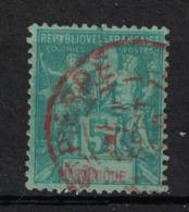 Martinique - Yvert 34 Oblitéré ST-PIERRE En ROUGE - Scott#56 - Martinique (1886-1947)