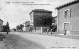 """REVENTIN-VAUGRIS """"La Route De Marseille Vers Le Grand Chemin"""" - Autres Communes"""