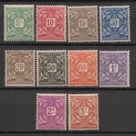 Haute-Volta - 1928 - Taxe TT N°Yv. 11 à 20 - Série Complète - Neuf Luxe ** / MNH / Postfrisch - Haute-Volta (1920-1932)