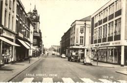 Crewe-earle  Street- Crewe-cpsm - England