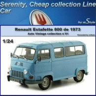 Neuf Renault Estafette 800 1973 AUTO VINTAGE 1/24 No. 81 Ixo Hachette Collection - Cars & 4-wheels