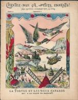 Couverture Cahier Chantez Moi çà Petits Enfants N°15 La Tortue Et Les Deux Canards Air çà La Façon De Barbari - Book Covers
