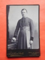 Photo Vers 1900 Prêtre / Ph. Sacré-Smits à Gand - Métiers