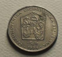 1974 - Tchécoslovaquie - Czechoslovakia - 2 KORUNY - KM 75 - Czechoslovakia