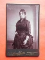 Photo Vers 1900 Dame / Ph. Sacré-Smits à Gand - Personnes Anonymes