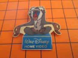 1219 Pin's Pins : BEAU ET RARE : Thème DISNEY / HOME VIDEO DESSIN ANIME LE LIVRE DE LA JUNGLE - Disney