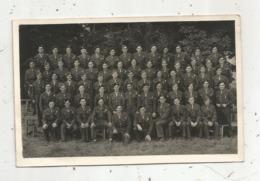 Cp, Carte Photo , Militaria , 501 E Régiment De Chars De Combat , 78 ,  RAMBOUILLET ,  2 Scans - Régiments
