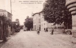 """CHONAS L'AMBALLAN """"La Place Du Quartier De L'église"""" - Otros Municipios"""