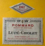12126 -  Pommard 1967 Lupé-Cholet - Bourgogne