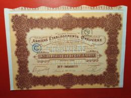 Aviation / S.A. ANCIENS ETABLISSEMENTS CHAUVIERE EX L'Helice Intégrale 1919 - Aviation