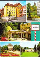 Tschechoslowakei CSSR - Bildpostkarte Von Chebsko (Egerland) 5 Farbige Bilder 2016 - Czech Republic