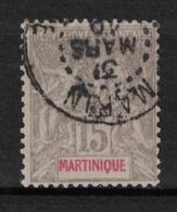 Martinique - Yvert 46 Oblitéré MARIN - Scott#41 - Martinique (1886-1947)