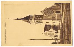 CPA Chaulnes (Somme) - L'Eglise - Circulé - Année : 1933 - Correspondant(s) : Compère Et Ducâtel - Chaulnes