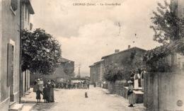 "CHONAS L'AMBALLAN "" La Grande Rue"" - Autres Communes"