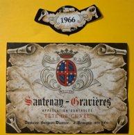 12129 - Santenay-Gravières 1966 Doamine Borgeot-Diconne - Bourgogne