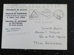 LILLE ESQUERMES  - NORD - FLAMME AVEC ENFANT VIVONS LA SECURITE - Annullamenti Meccanici (pubblicitari)