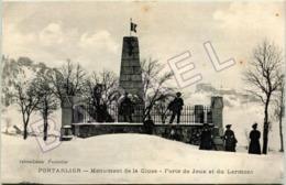 Pontarlier (25) - Monument De La Cluse - Forts De Joux Et Du Larmont (Circulé En 1918) - Pontarlier